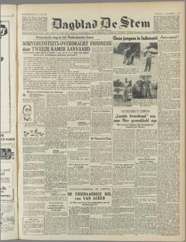 de Stem 1949-12-09