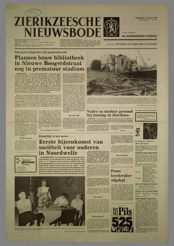 Zierikzeesche Nieuwsbode 1982-10-07