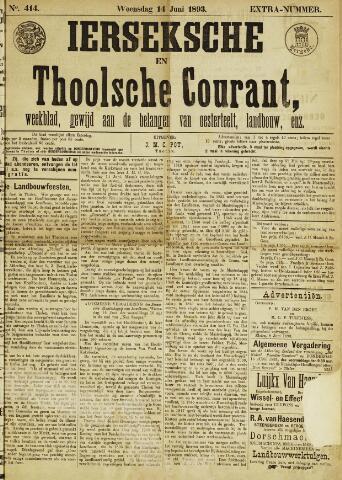 Ierseksche en Thoolsche Courant 1893-06-14