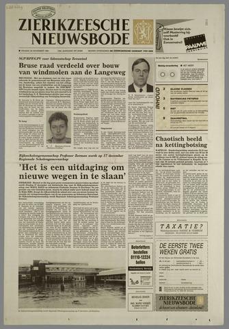 Zierikzeesche Nieuwsbode 1991-11-29