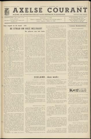 Axelsche Courant 1960-08-20
