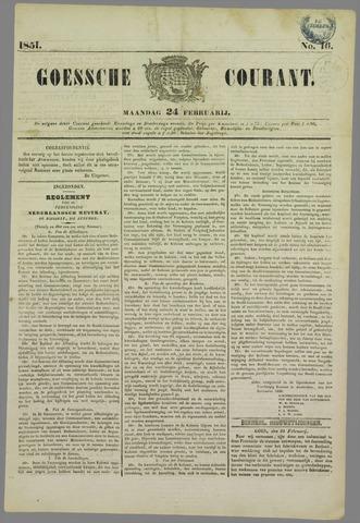 Goessche Courant 1851-02-24