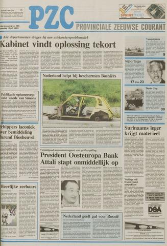 Provinciale Zeeuwse Courant 1993-07-17