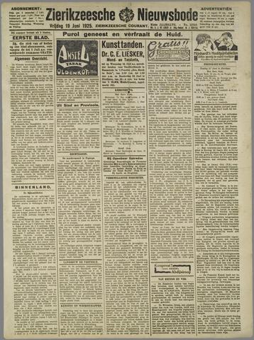 Zierikzeesche Nieuwsbode 1925-06-19