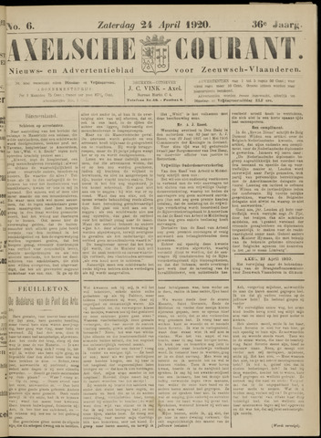 Axelsche Courant 1920-04-24