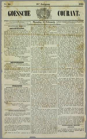 Goessche Courant 1861-02-11