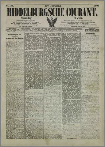 Middelburgsche Courant 1893-07-31