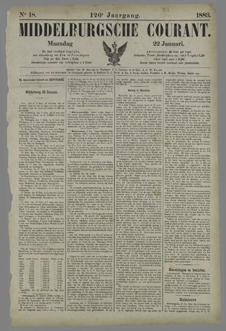 Middelburgsche Courant 1883-01-22