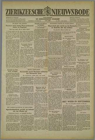 Zierikzeesche Nieuwsbode 1952-10-02