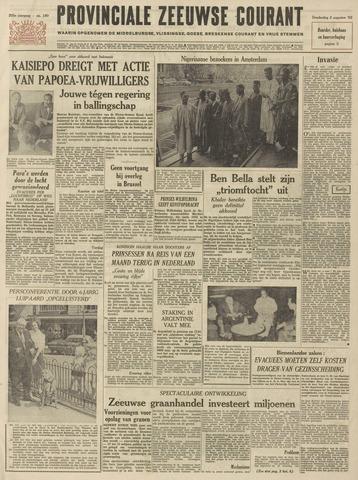 Provinciale Zeeuwse Courant 1962-08-02