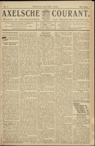 Axelsche Courant 1926-04-02