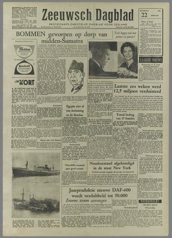 Zeeuwsch Dagblad 1958-02-22