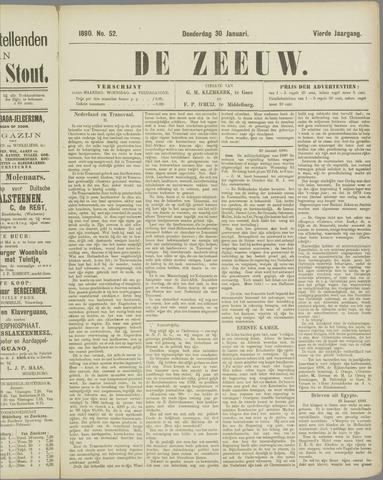 De Zeeuw. Christelijk-historisch nieuwsblad voor Zeeland 1890-01-30