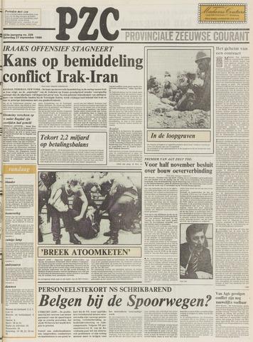 Provinciale Zeeuwse Courant 1980-09-27