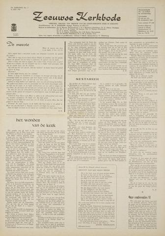 Zeeuwsche kerkbode, weekblad gewijd aan de belangen der gereformeerde kerken/ Zeeuwsch kerkblad 1969-07-10