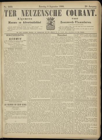 Ter Neuzensche Courant. Algemeen Nieuws- en Advertentieblad voor Zeeuwsch-Vlaanderen / Neuzensche Courant ... (idem) / (Algemeen) nieuws en advertentieblad voor Zeeuwsch-Vlaanderen 1888-09-08