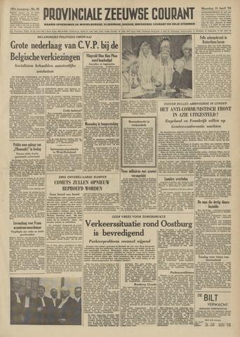 Provinciale Zeeuwse Courant 1954-04-12