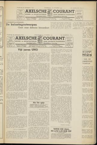 Axelsche Courant 1950-10-25