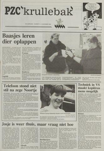 Provinciale Zeeuwse Courant katern Krullenbak (1981-1999) 1993-11-09