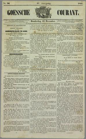Goessche Courant 1861-12-12