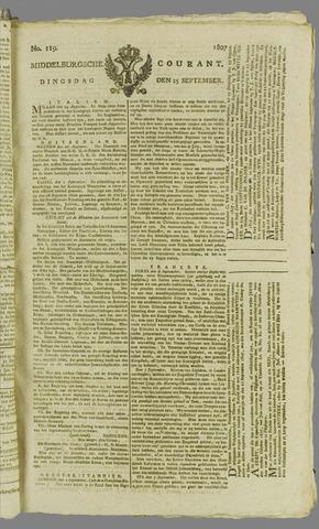 Middelburgsche Courant 1807-09-15