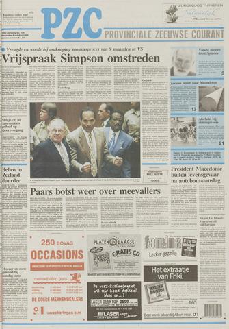 Provinciale Zeeuwse Courant 1995-10-04