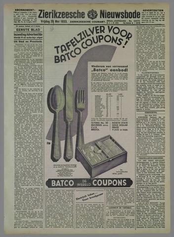 Zierikzeesche Nieuwsbode 1933-05-28