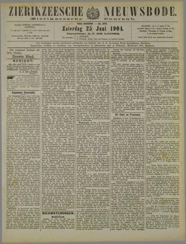 Zierikzeesche Nieuwsbode 1904-06-25