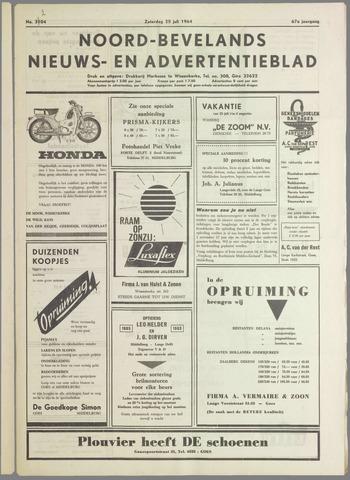 Noord-Bevelands Nieuws- en advertentieblad 1964-07-25