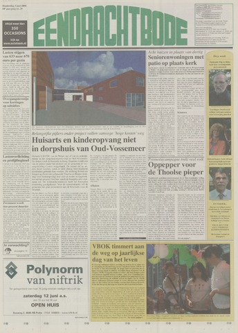 Eendrachtbode (1945-heden)/Mededeelingenblad voor het eiland Tholen (1944/45) 2004-06-03