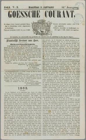 Goessche Courant 1864-01-11