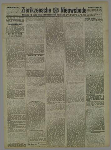 Zierikzeesche Nieuwsbode 1923-06-18