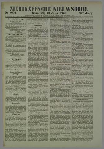 Zierikzeesche Nieuwsbode 1882-06-22