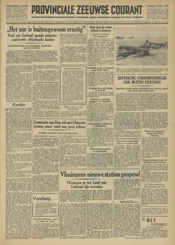 Provinciale Zeeuwse Courant 1950-12-19