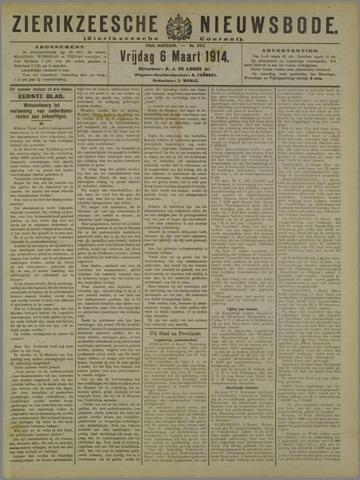 Zierikzeesche Nieuwsbode 1914-03-05