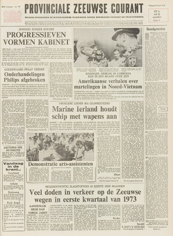Provinciale Zeeuwse Courant 1973-03-30
