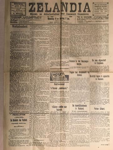 Zelandia. Nieuws-en advertentieblad voor Zeeland | edities: Het Land van Hulst en De Vier Ambachten 1928-01-16