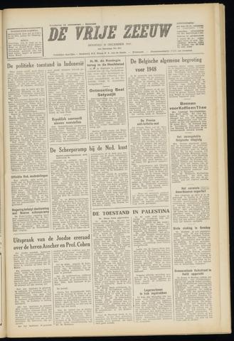 de Vrije Zeeuw 1947-12-30