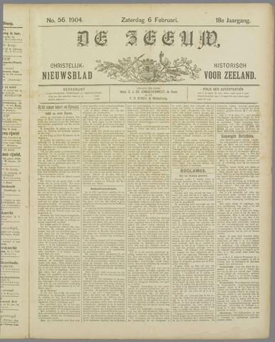 De Zeeuw. Christelijk-historisch nieuwsblad voor Zeeland 1904-02-06