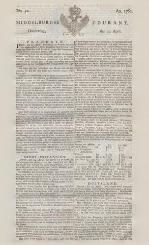 Middelburgsche Courant 1761-04-30