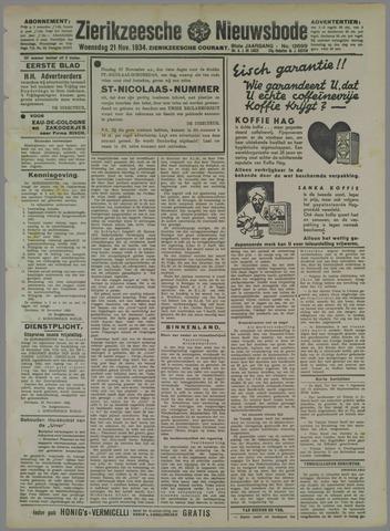 Zierikzeesche Nieuwsbode 1934-11-21