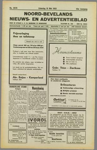 Noord-Bevelands Nieuws- en advertentieblad 1952-05-10
