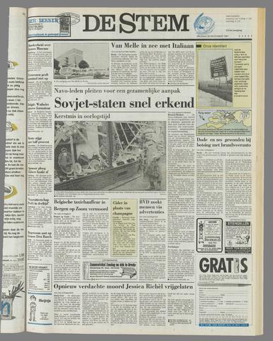 de Stem 1991-12-20