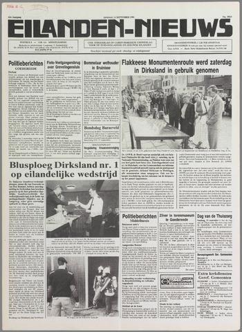 Eilanden-nieuws. Christelijk streekblad op gereformeerde grondslag 1990-09-11