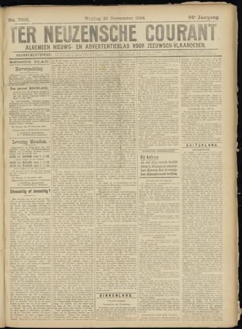 Ter Neuzensche Courant. Algemeen Nieuws- en Advertentieblad voor Zeeuwsch-Vlaanderen / Neuzensche Courant ... (idem) / (Algemeen) nieuws en advertentieblad voor Zeeuwsch-Vlaanderen 1924-11-28