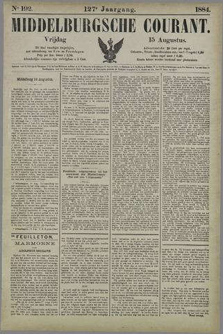 Middelburgsche Courant 1884-08-15