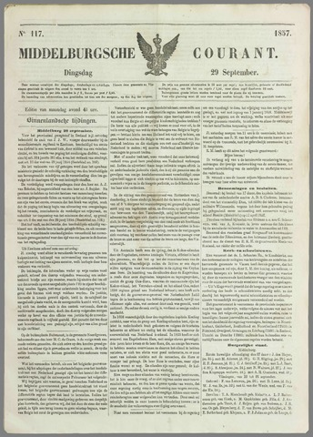 Middelburgsche Courant 1857-09-29