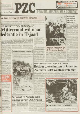 Provinciale Zeeuwse Courant 1983-08-26