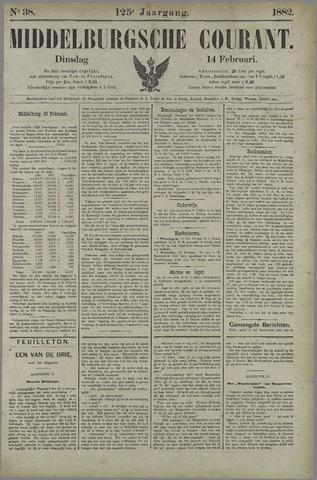Middelburgsche Courant 1882-02-14
