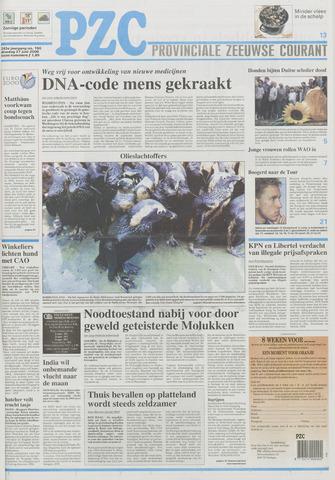 Provinciale Zeeuwse Courant 2000-06-27